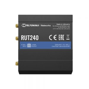 RUT240 – Compact, cost-effective and secure industrial 4G/LTE Wi-Fi router